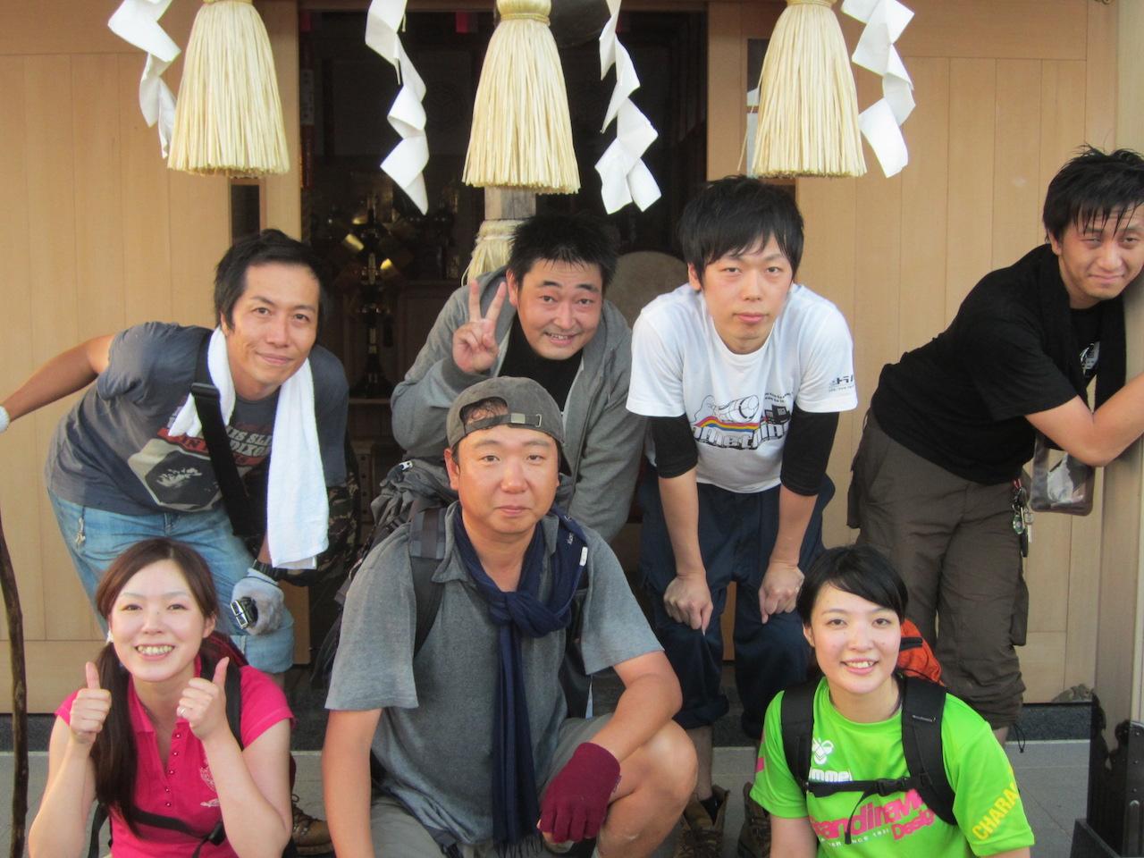 画像:集合写真太平山神宮